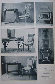Merveilleux Landry, Assorted Furniture Produced For La Maison Moderne