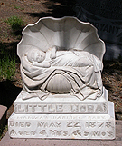 Fig. 9: Anonymous carver, Little Nora Boughton Monument