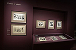 Fig. 9: Installation of Daumier exhibition: Dessin et pierres