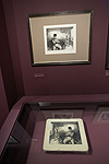 Fig. 10: Installation of Daumier exhibition: Dessin et pierres