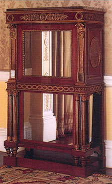 8, Louis François Bellangé, Secretaire From A Pair, Ca. 1815u201318. Wood,  Ormolu, And Mirror. Collection Of Her Majesty Queen Elizabeth II,  Buckingham Palace, ...