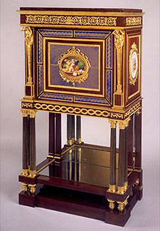 Fig. 9, Attributed To Louis François Bellangé, Secrétaire, Ca. 1820u201323.  Wood, Porcelain, Ormolu, And Mirror. Private Collection (formerly J. Paul  Getty ...