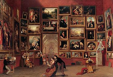 Infesting the galleries of europe the copyist emma conant for 1800 salon chicago