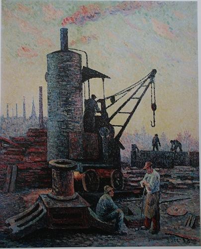 usine ou travaille le meunier