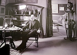 Fig. 10, At Home, Installation View, Detail: Louis Held, Dining Room At  Lassenstraße 29 With Bloemenwerf Furniture, Ca. 1906. Photograph, Print  From Glass ...