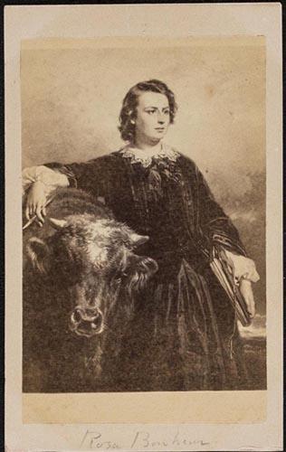 Fig 4 Anonymous Rosa Bonheur Ca 1867 Carte De Visite Wellesley College Archives MSS