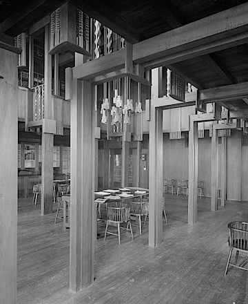 2 charles rennie mackintosh interior of the glasgow school of art library ca 1910 photograph by bedford lemere rcahms licensor www rcahms gov uk