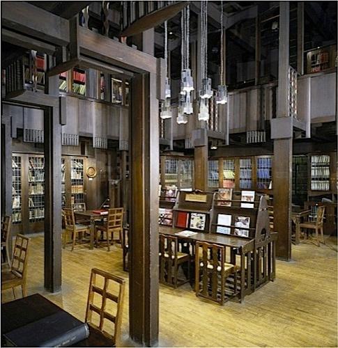 3 The Mackintosh Library Glasgow School Of Art Photograph