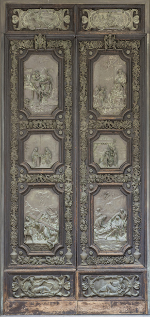 5 Waldo Story Bronze Doors for the Morgan Library ca. 1900. Bronze and wood. Photograph courtesy of the Morgan Library New York. & From Florence to London to New York: Mr. Morgan\u0027s Bronze Doors Pezcame.Com