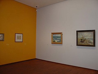 Installation View (Room 5), Arles: Drawings (left Wall) And Paintings  (right Wall) From Excursion To Les Saintes Maries De La Mer, May 30u2013June 3,  1888.