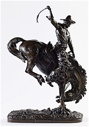 Fig 5 Alexander Phimister Proctor Buckaroo 1915 Bronze Tacoma Art Museum Haub Family Collection Photograph By Rodolfo Sanchez Solstream Studios