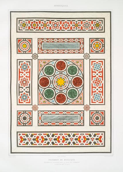 Published In The Grammar Of Ornament: Illustrated By Examples From Various  Styles ...