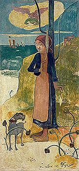 gauguin agony in the garden