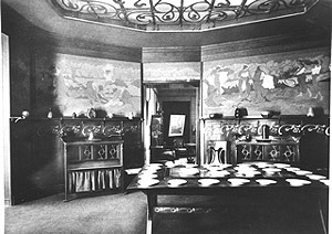 Dining Room on Fig  14 Henry Van De Velde  Dining Room  Decorative Wall Panels By