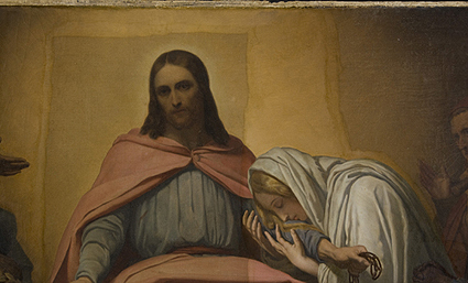 New Discoveries: A Reduced Version of Ary Scheffer's Christ Consolator
