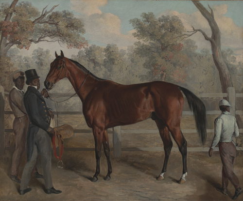 Dallow On Edward Troye S Equine Paintings