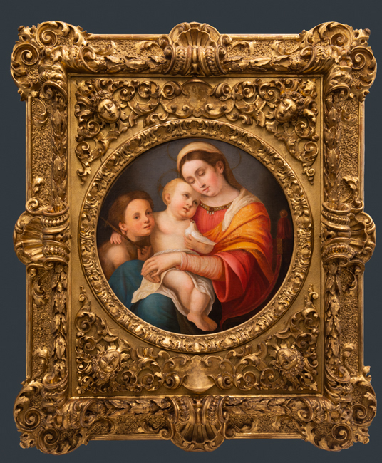 01f95d56b066 No contemporary viewer educated in Western art history would mistake for an  authentic Raphael the painting of the seated Madonna holding the Christ  Child, ...