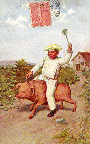 Visions of Pork Production, Past and Future, on French Belle Époque